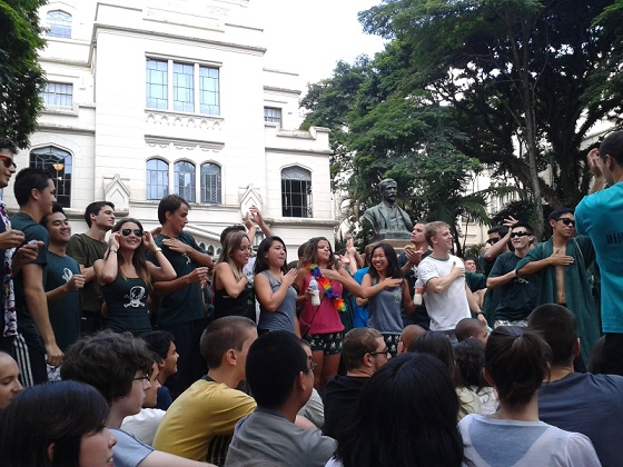 "Dia do ""Canta Calouro""!!!"