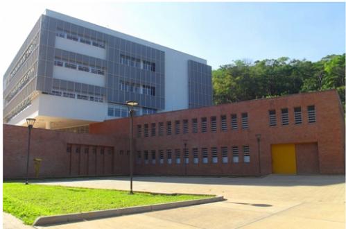Foto: Edifício da Saúde (Departamento de Medicina e Enfermagem).