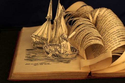 Livro O Lobo e o Mar - Uma Leitura de Aventura e Filosofia