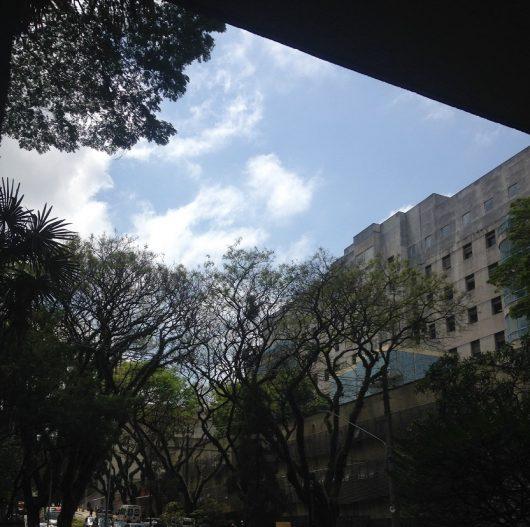 Foto que tirei do Complexo do Hospital das Clínicas, onde estudo
